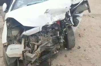 2 कारों में आमने-सामने जबरदस्त भिड़ंत, एक युवक की दर्दनाक मौत, दो गंभीर
