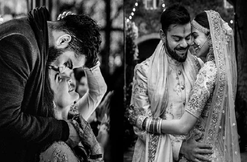 Anushka Sharma को इस खूबसूरत तस्वीर के साथ विराट कोहली ने दी मैरिज एनिवर्सरी की बधाई