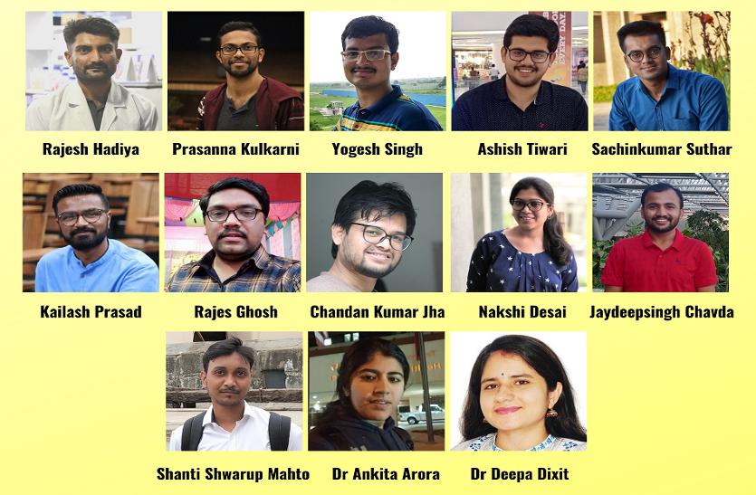 आईआईटी-गांधीनगर के पीएचडी स्कॉलर्स ने हासिल किया प्रतिष्ठित पुरस्कार