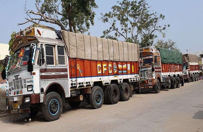 अजमेर जिले में थम नहीं रहा अवैध बजरी परिवहन