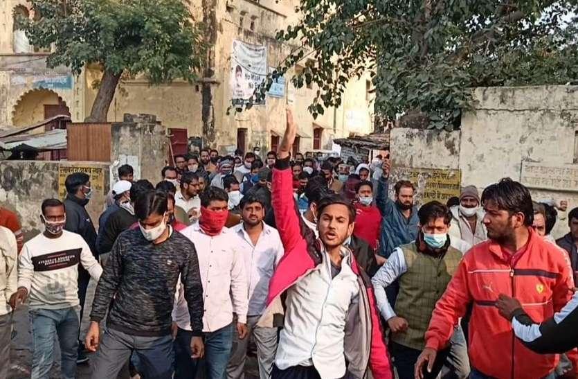कामां में भाजपा व भुसावर में कांग्रेस में बगावत, बाड़ेबंदी में हुआ हंगामा