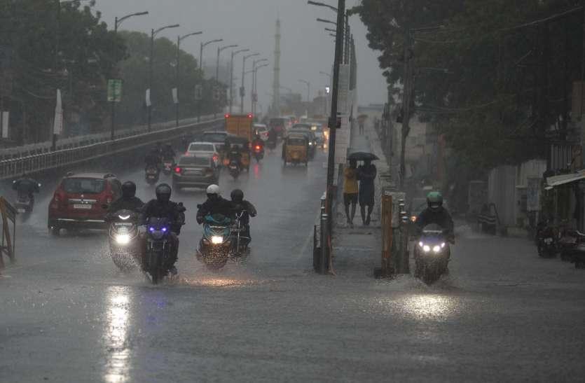 तमिलनाडु व केरल में भारी बारिश की संभावना, मौसम विभाग ने दी चेतवानी