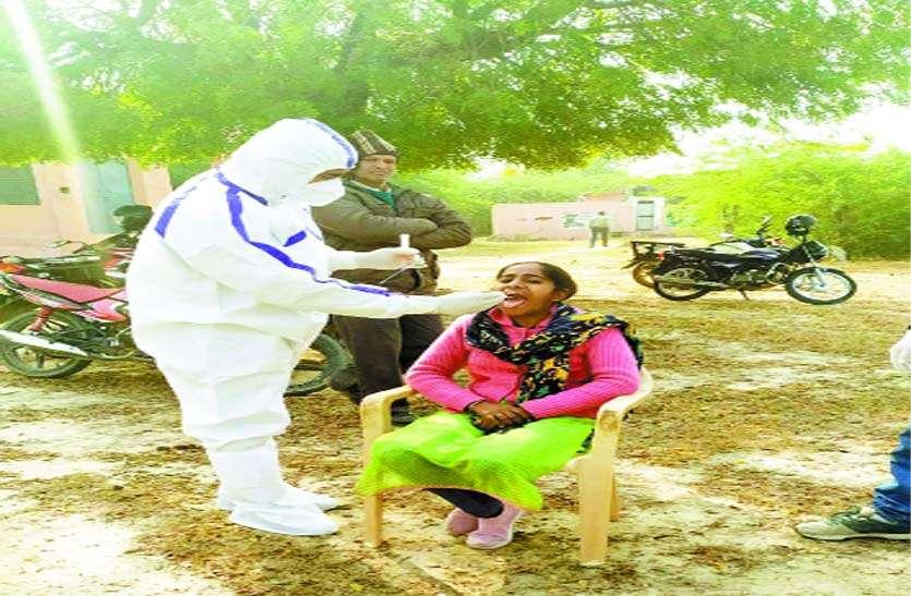 जिले में फिर बढ़ा पॉजिटिव का आंकड़ा, एक संक्रमित की मौत