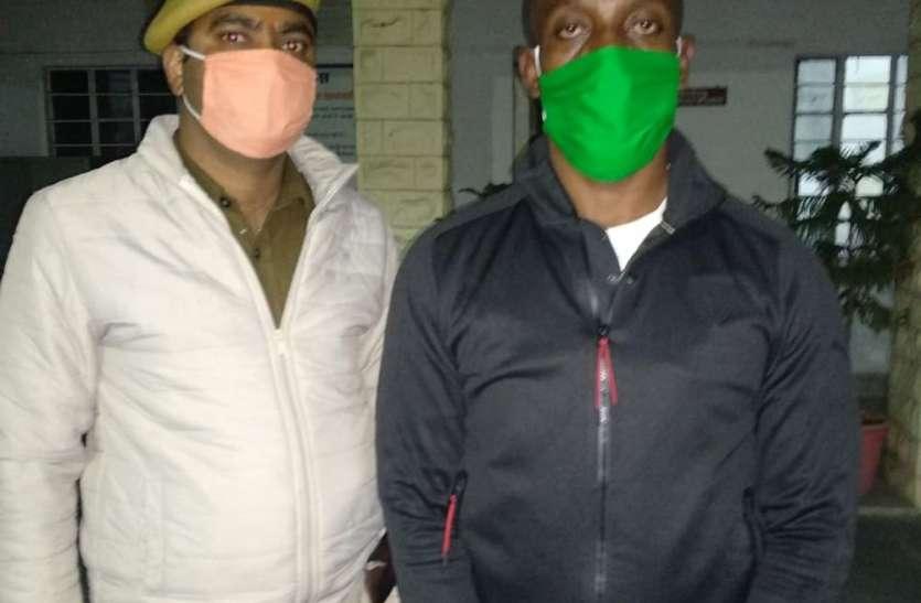 युगाण्डा का युवक जोधपुर जेल पहुंचा