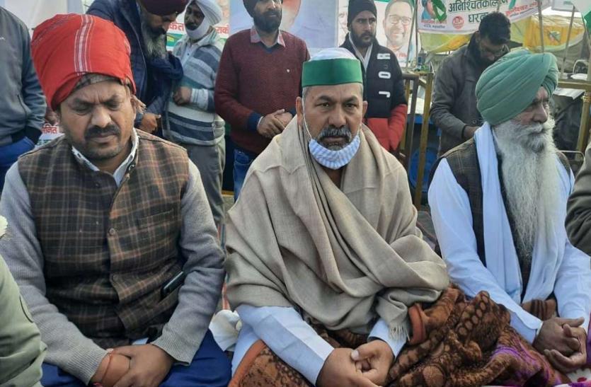 Farmers Movement Is Now Supported By Khapas - किसान आंदोलन को अब खाप पंचायतों का भी समर्थन, टिकैत बोले- किसान केे सम्मान की लड़ाई   Patrika News