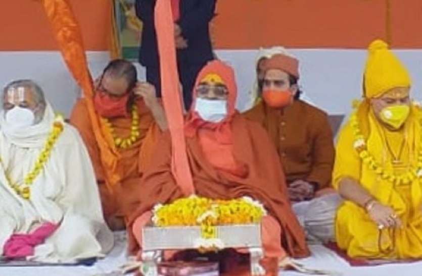 150 फुट गहरा बनेगा 1200 पिलर जनवरी से होगा कार्य : वासुदेवानंद सरस्वती