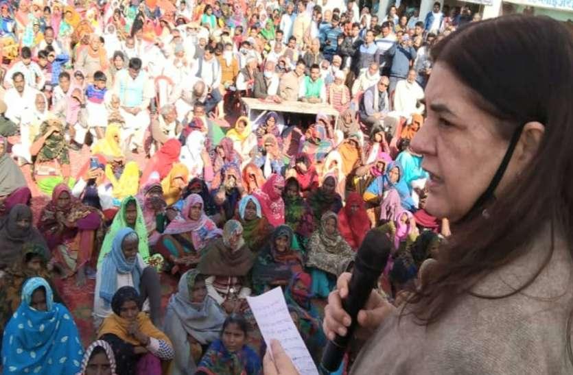 यूपी के किसानों का मोदी और योगी सरकार में भरोसा : मेनका गांधी