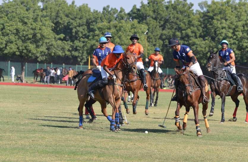 JODHPUR POLO SEASON--एचीवर्स ऑन व रजनीगंधा एचीवर्स टीमें जीती