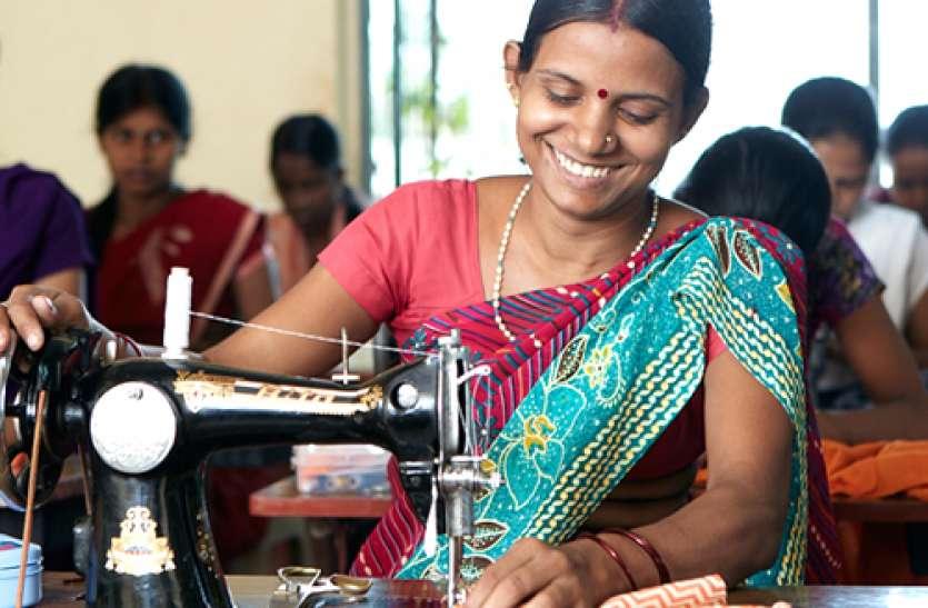 टेलरिंग शॉप योजना : सिलाई-कढ़ाई से बेरोजगार महिलाएं कर सकेंगी कमाई, सरकार देगी 20 हजार की मदद