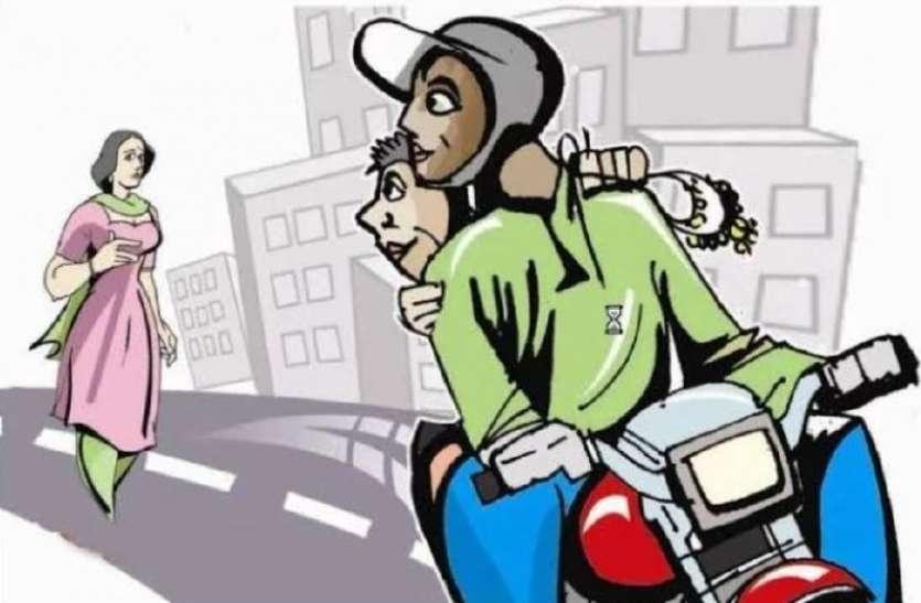 जबलपुर में बेकाबू अपराध, दुकान में घुसकर दिनदहाड़े वृद्धा से लूट