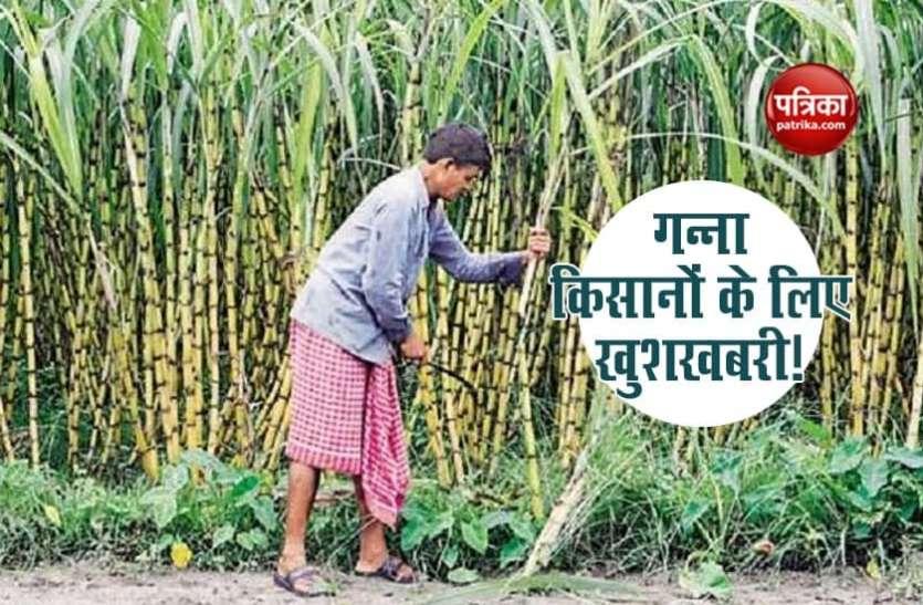 किसानों को खुश करने का सरकार का जुगाड़, गन्ने के दाम में 10 रुपये प्रति क्विंटल की वृद्धि