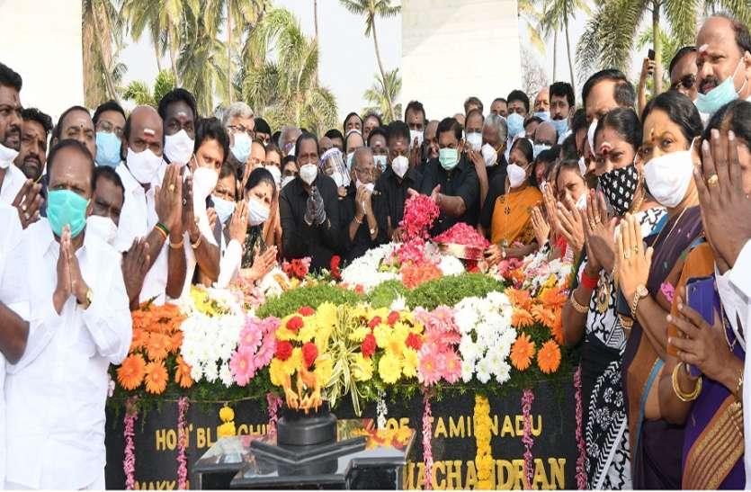 मुख्यमंत्री समेत अन्य नेताओं ने एमजीआर की पुण्यतिथि पर दी श्रद्धांजलि