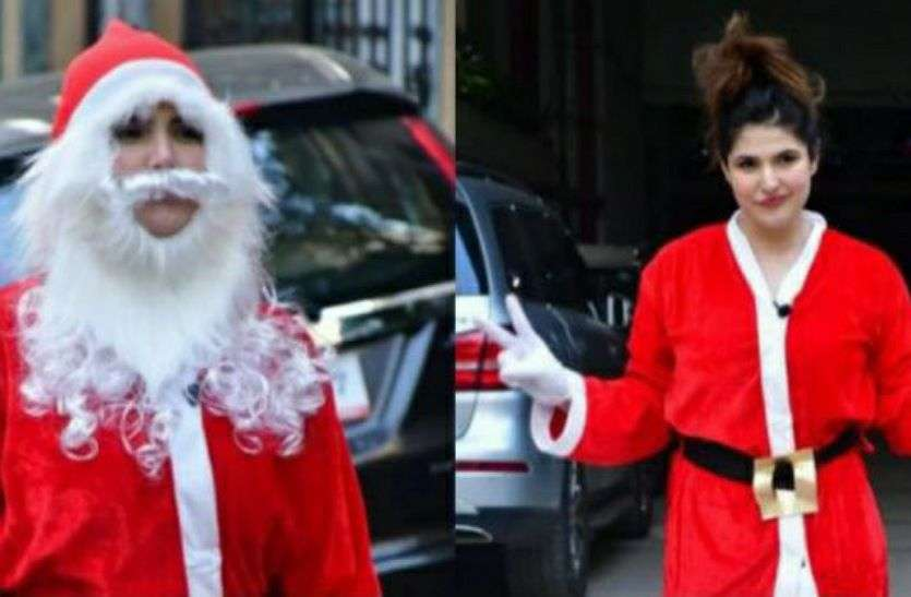 बॉलीवुड में शुरू हुआ क्रिसमस सेलिब्रेशन, कोई बना सांता क्लॉज...तो किसी ने सजाई क्रिसमस ट्री