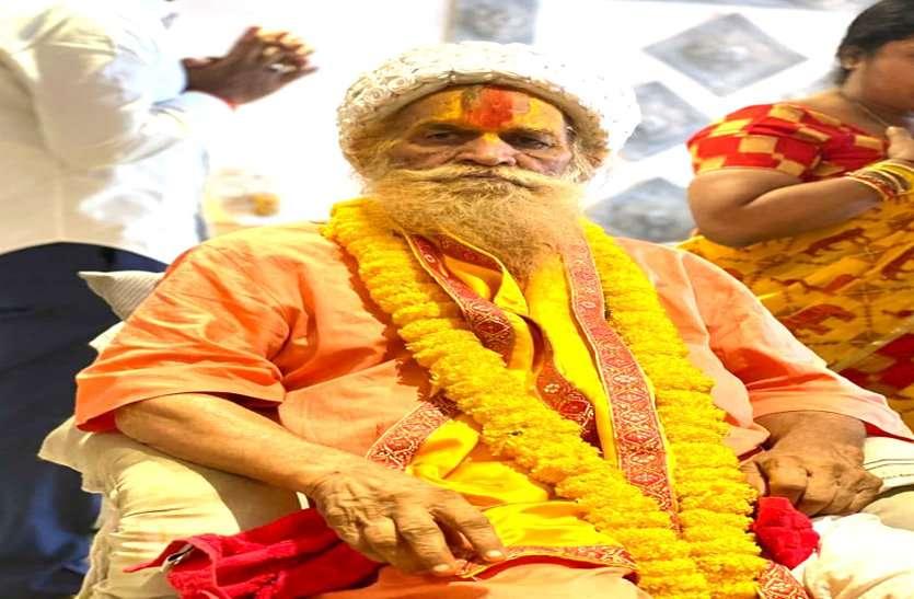 छत्तीसगढ़ में बर्फानी दादा के नाम से प्रसिद्ध संत लाल बिहारी दास का अहमदाबाद में निधन, पाताल भैरवी मंदिर की रखी थी नींव