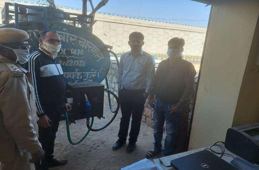 गुजरात से बाड़मेर पहुंचा 2 हजार कथित बायो डीजल बरामद, जानिए पूरी खबर