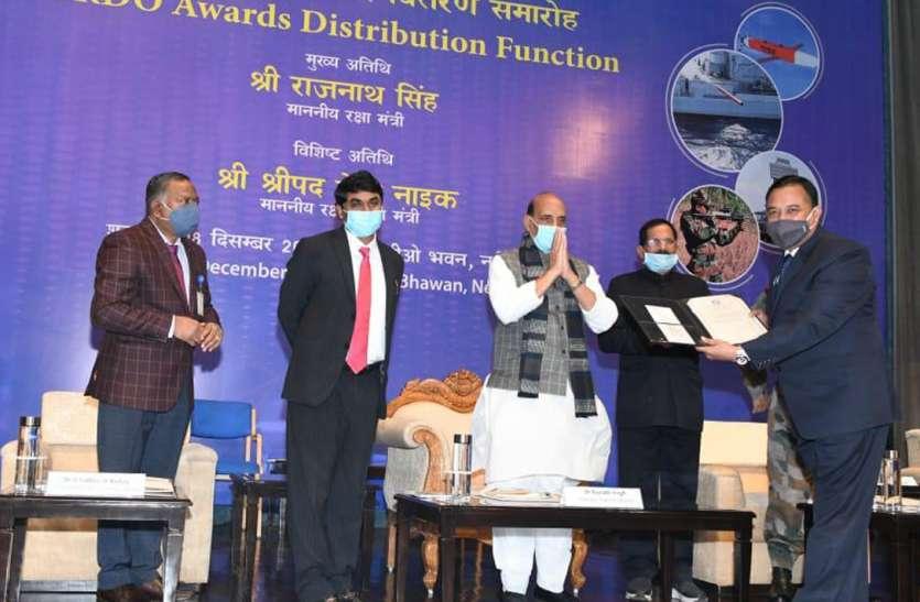 हेमंत पांडेय को डीआरडीओ का 'साइंटिस्ट आफ द ईयर' पुरस्कार