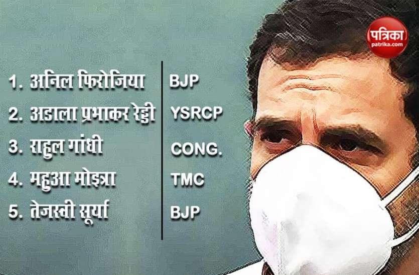 महामारी के दौरान ये माननीय बने 'कोरोना वॉरियर', राहुल गांधी भी शामिल