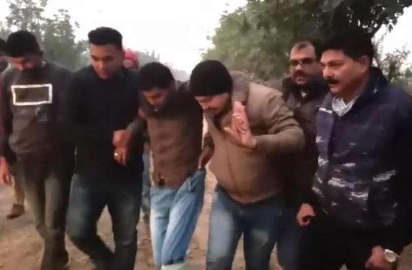 करोड़ों के प्रोपर्टी विवाद में हुई थी वकील की हत्या, एनकाउंटर के बाद शार्प शूटर समेत दो गिरफ्तार