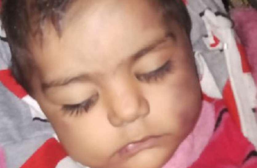 बेटे की चाह में पिता ने एक साल की बेटी को बेरहम से माैत के घाट उतारा