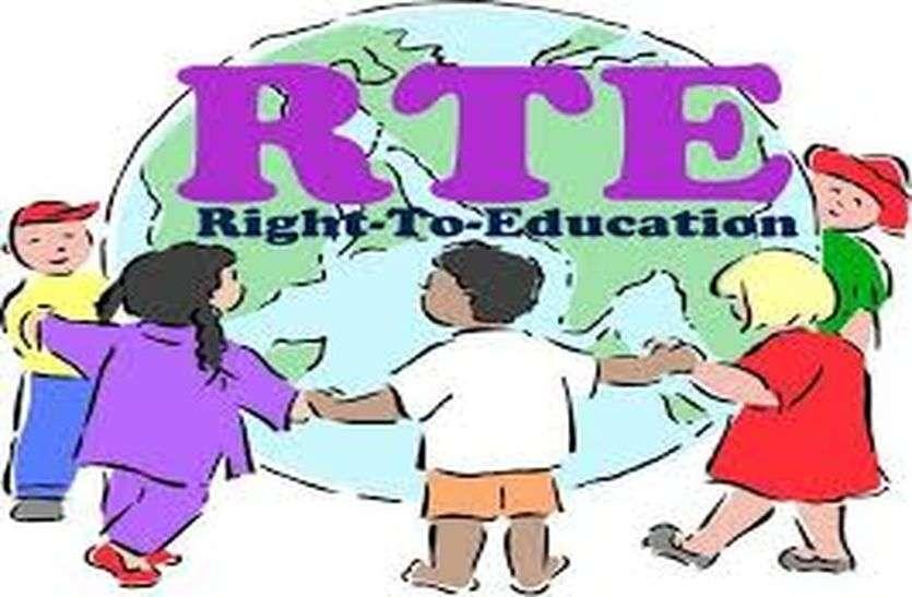RTE - आरटीई का भुगतान नहीं मिलने से नाराज