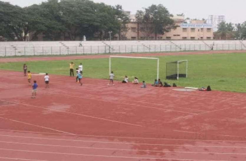 रखरखाव की कमी से स्टेडियमों की हालत खस्ता