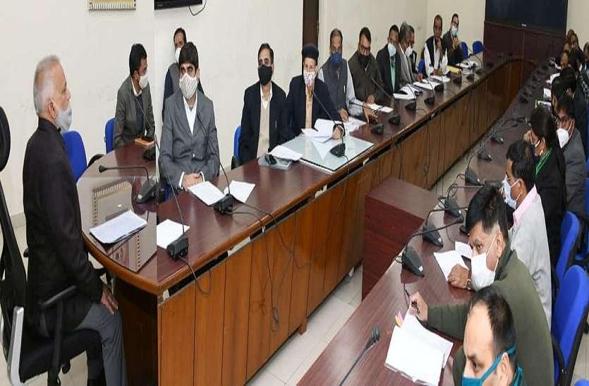 मुख्य सचिव ने गणतंत्र दिवस समारोह की तैयारियों की समीक्षा की