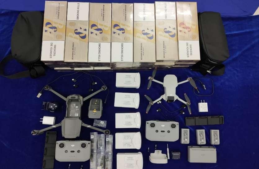 चेन्नई एयरपोर्ट पर तस्करी कर लाया गया सोना और 4 ड्रोन सहित 48 लाख का सामान जब्त