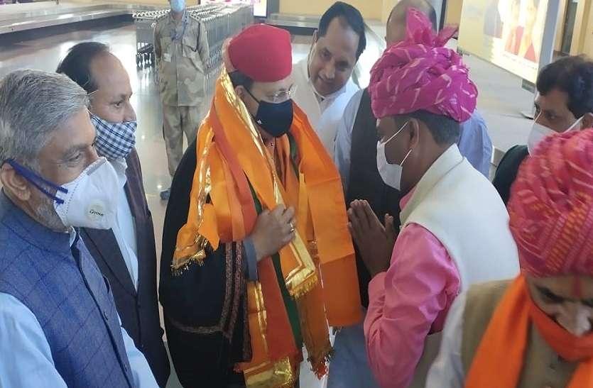 अब उदयपुर संभाग की सियासी नब्ज़ टटोलने पहुंचे BJP प्रदेश प्रभारी अरुण सिंह