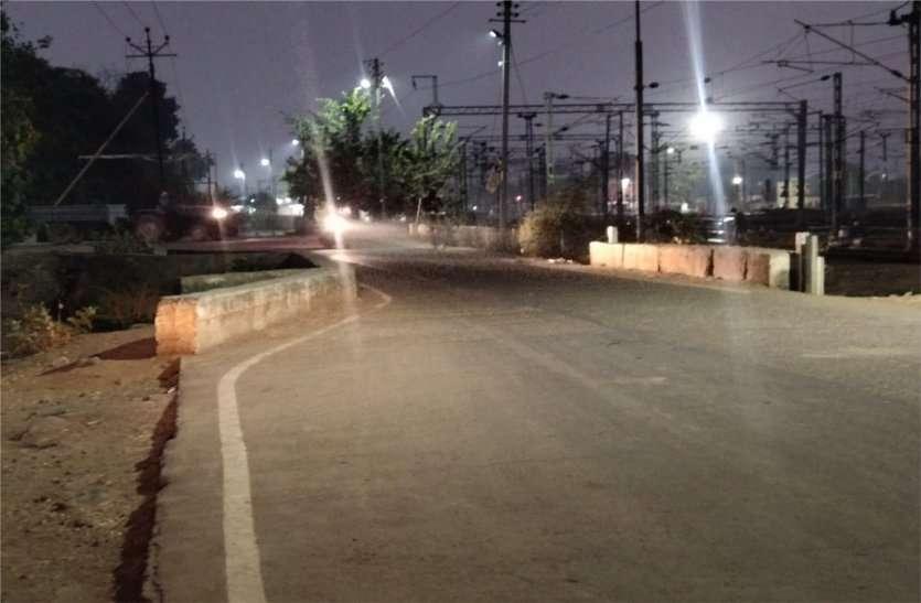 सड़क बनाते समय तकनीकी खामियां नहीं की गई दूर,अंधे मोड़ से हरदम जान का खतरा