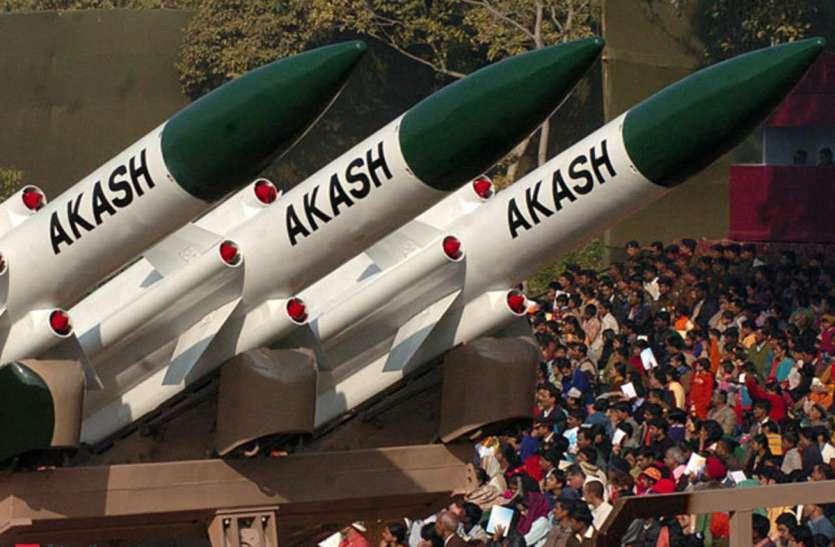 कई देशों ने आकाश वायु रक्षा मिसाइल प्रणाली के अधिग्रहण में रुचि दिखाई