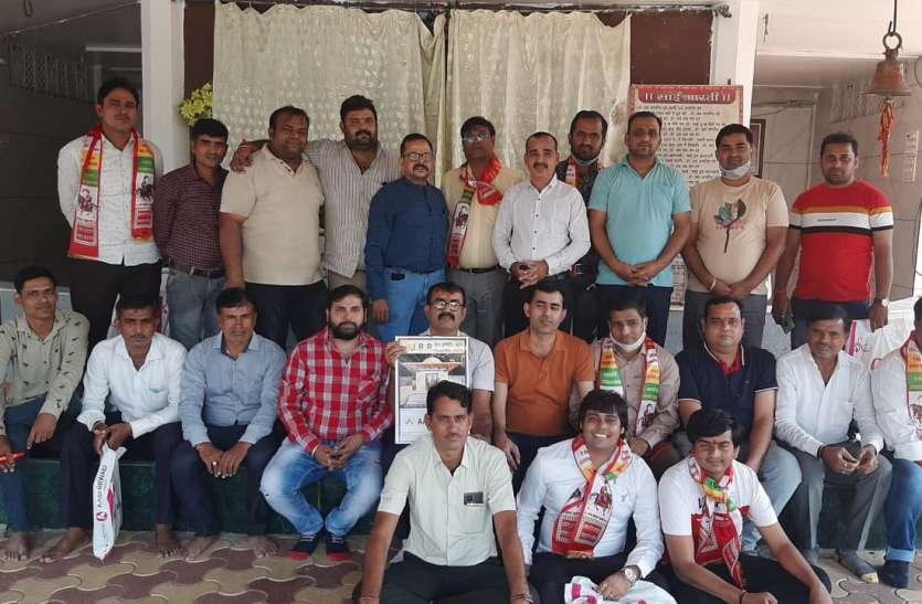 SURAT NEWS: भक्तिधाम मंदिर प्रांगण में हुआ विमोचन कार्यक्रम