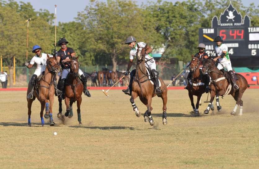 JODHPUR POLO SEASON-सहारा वॉरियर्स ने जीता पोलो फैक्ट्री महाराजा ऑफ जोधपुर का खिताब