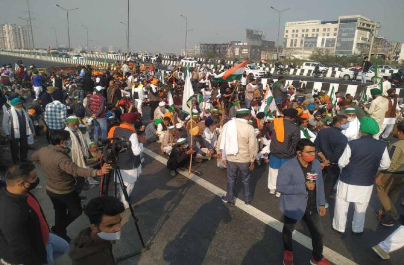 Farmer Protest : MSP पर राहत की उम्मीद कम, किसान नेताओं ने कहा - हमारे पास इसका कोई विकल्प नहीं