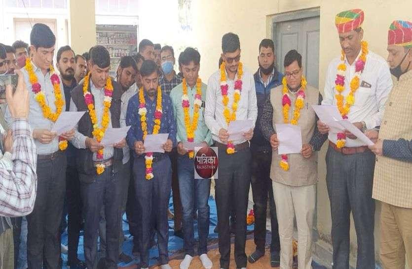 महावीरसिंह देवड़ा बने राजस्थान पटवार संघ सिरोही के जिलाध्यक्ष, पूरी कार्यकारिणी निर्विरोध घोषित