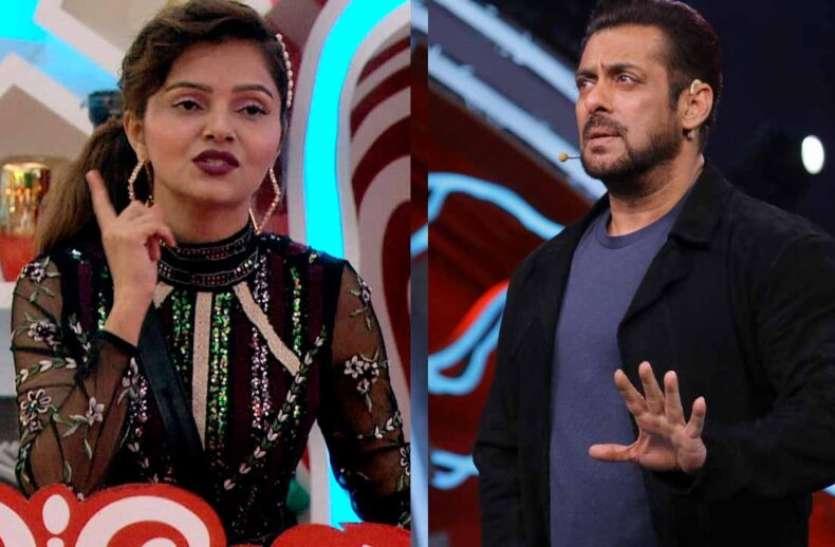 उंगली दिखाने पर सलमान खान का Rubina Dilaik पर फूटा गुस्सा, कहा- ये क्या है? इसका मतलब..