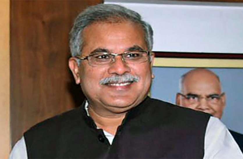 रायपुर : सीएम ने विकास कार्य देखे,1.43 करोड़ के  विकास कार्यों का किया लोकार्पण एवं भूमिपूजन