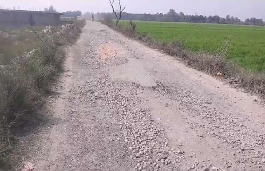 गांवों के संपर्क मार्गों की हालत खराब