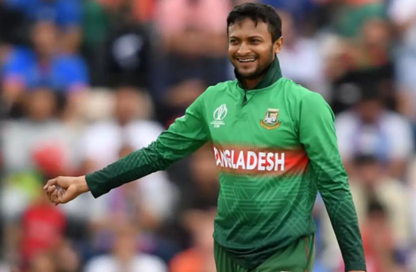 विंडीज सीरीज के लिए शाकिब को बांग्लादेश टीम में मिली जगह