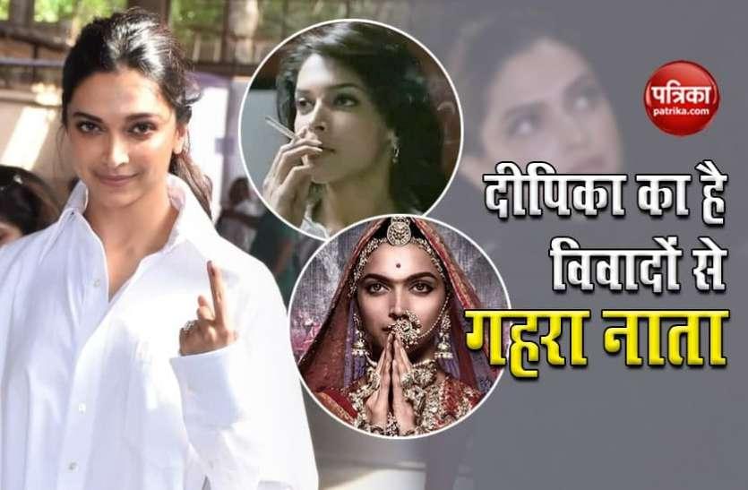 कई बड़े विवादों में फंस चुकी हैं Deepika Padukone, नाक काटने तक की मिल चुकी है धमकी