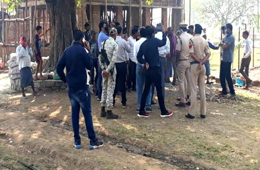 शरारती तत्वों ने जैतखाम को पहुंचाया नुकसान, भड़का सतनामी समाज, पुलिस छावनी में तब्दील कवर्धा का धरमपुरा गांव