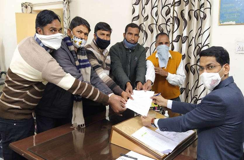 प्रबोधक संघ ने सौंपा ज्ञापन, वेतन विसंगति को दूर करने की मांग