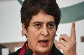 बदायूं गैंगरेप: फिर बिफरीं प्रियंका गांधी, बोलीं- महिला सुरक्षा को लेकर योगी सरकार की नीयत में खाेट