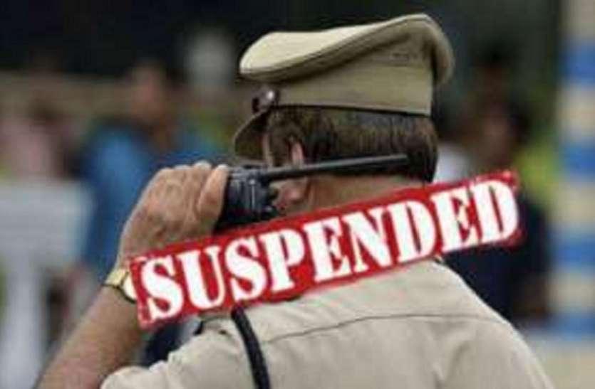कर्नाटक : पुलिस निरीक्षक, दो कांस्टेबल निलंबित