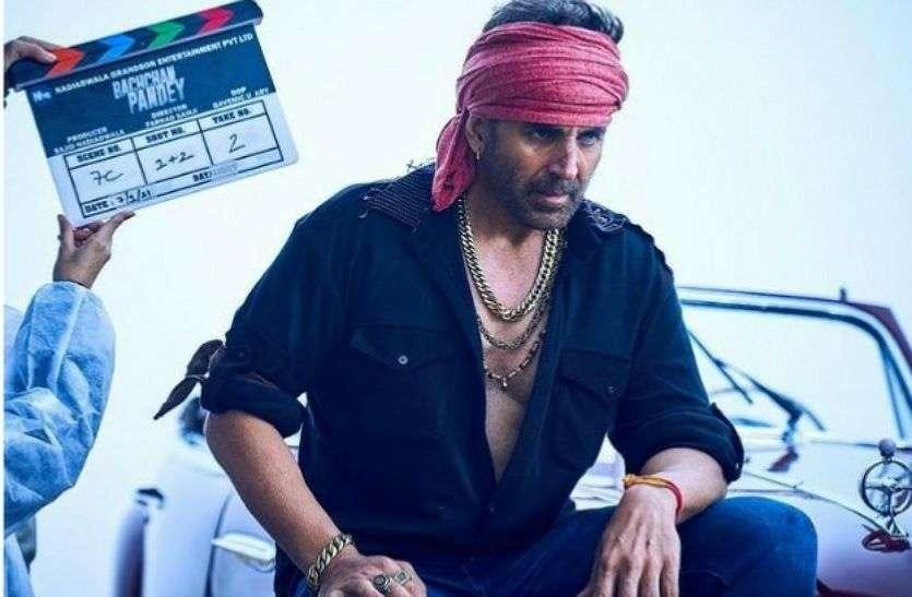 अक्षय कुमार के गैंगेस्टर लुक ने मचाया तहलका बच्चन पांडे में निभाएंगे यह किरदार