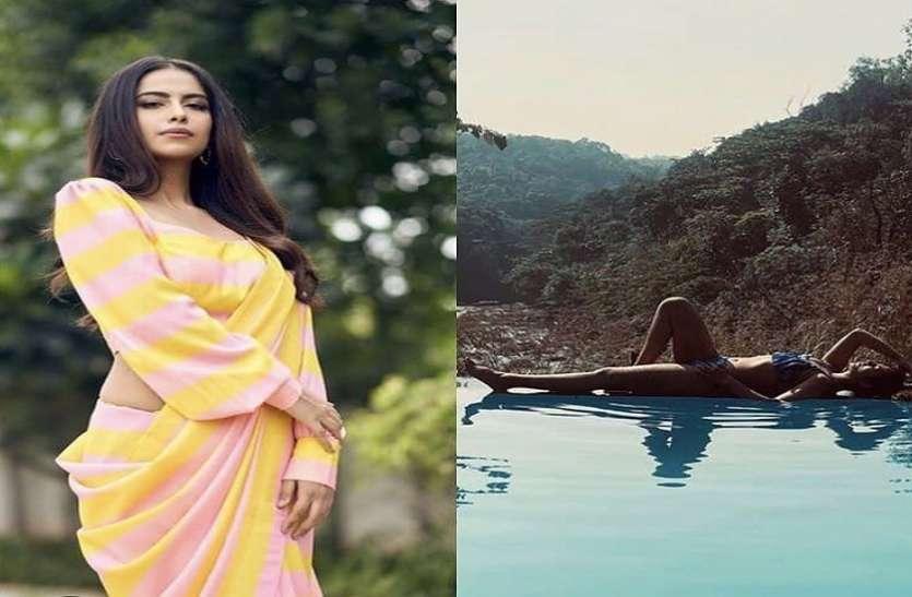 ब्लू बिकनी में 'बालिका वधू' की एक्ट्रेस Avika Gor ने दिया कातिलाना पोज, बॉडी को फ्लॉन्ट करती हुईं आई नज़र