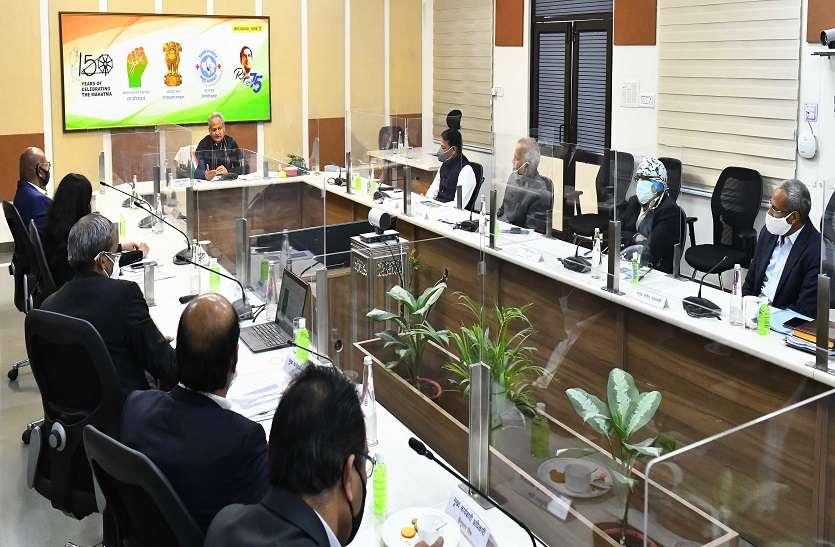 खनन क्षेत्र का पूरी प्रतिबद्धता के साथ विकास करेगी सरकार - मुख्यमंत्री