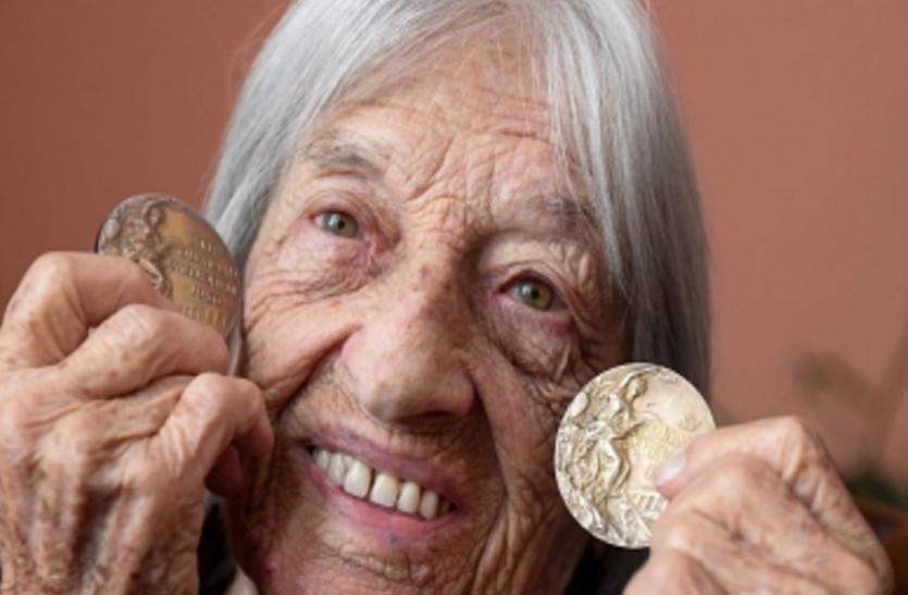 सबसे वृद्ध जीवित ओलंपिक चैम्पियन क्लेटी ने अपना 100वां जन्मदिन मनाया