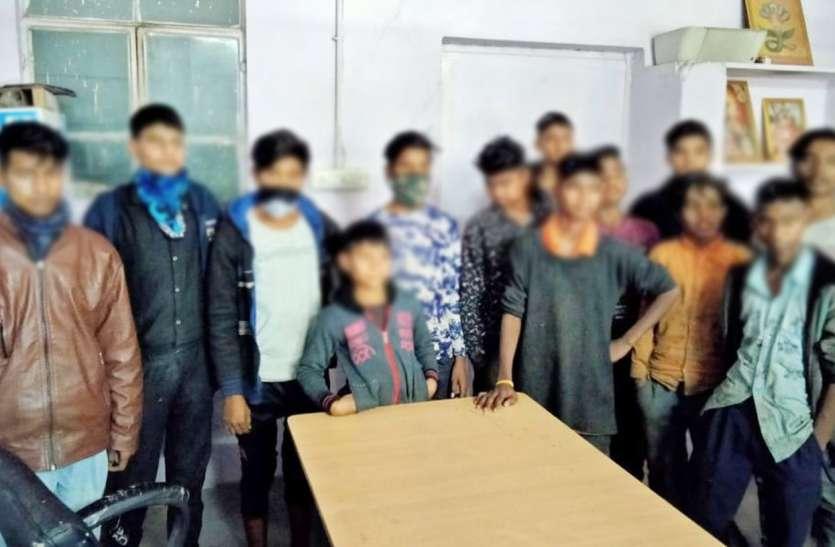 होटल, कारखानों से 12 बाल श्रमिकों को कराया मुक्त