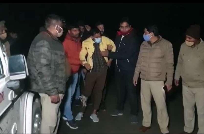 चावलव्यापारी से 13 लाख लूटने वाले बदमाश को पुलिस ने एनकाउंटर में गोली मारकर किया पस्त