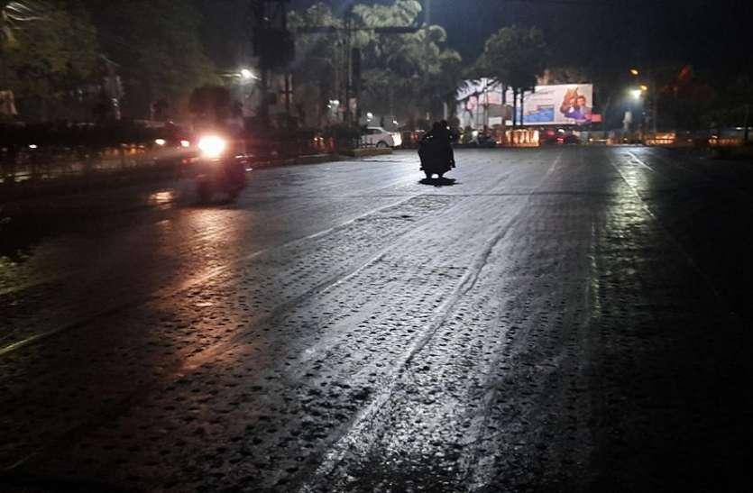 बारिश से मौसम में आई तब्दीली, हाड़कंपाऊ ठंड के आसार